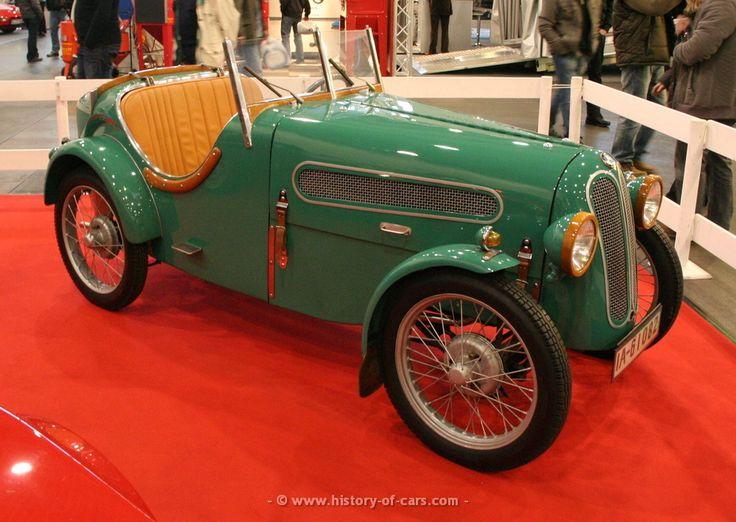 BMW 3ቫ DA-1 1927 - 1929 Cabriolet #2