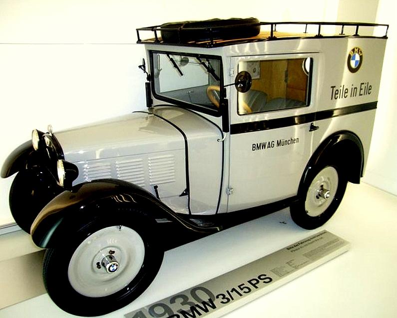 BMW 3ቫ DA-2 1929 - 1931 Limousine #1