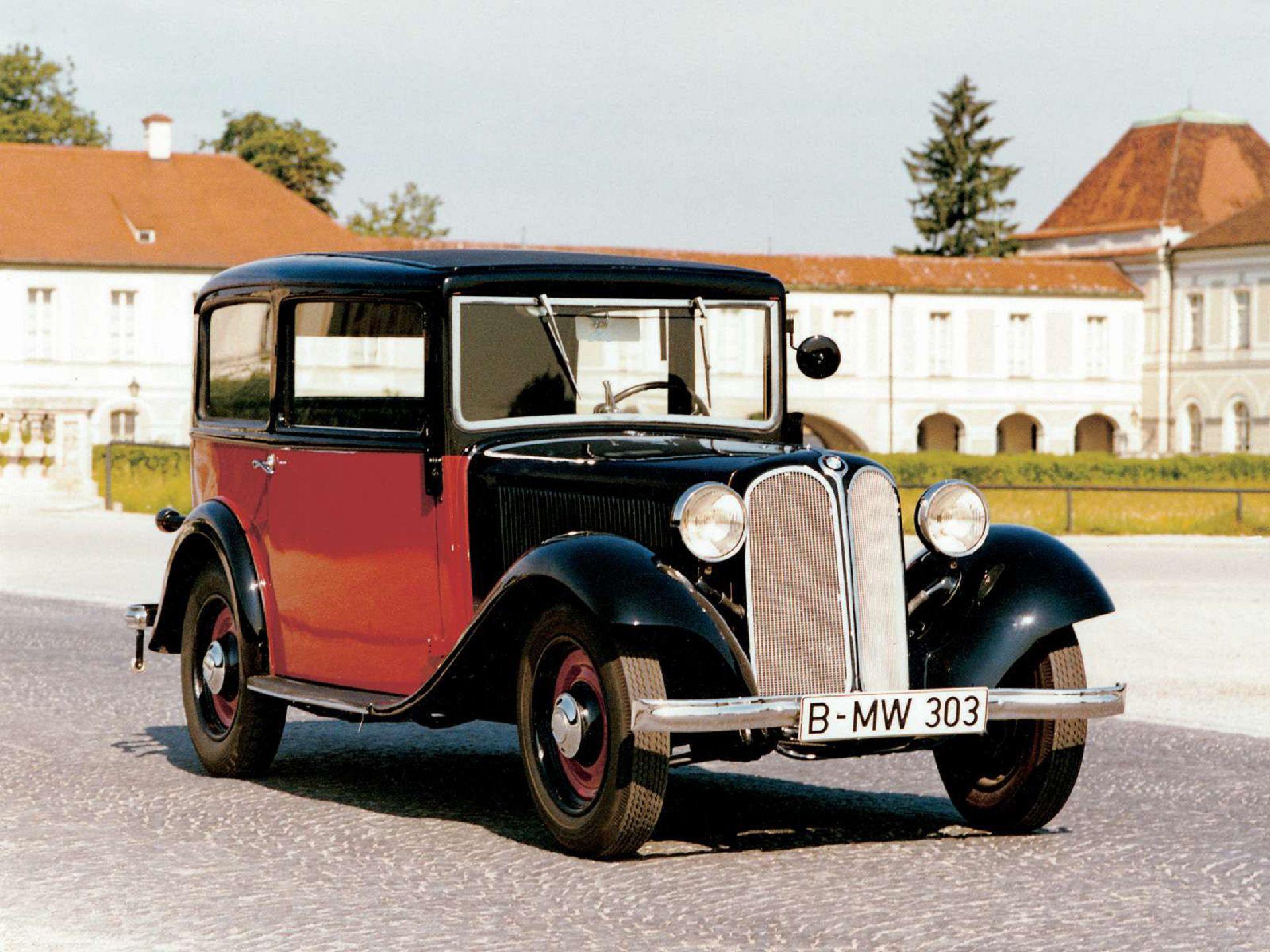 BMW 3ቫ DA-2 1929 - 1931 Limousine #3