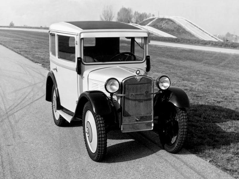 BMW 3ቫ DA-4 1931 - 1932 Limousine #4