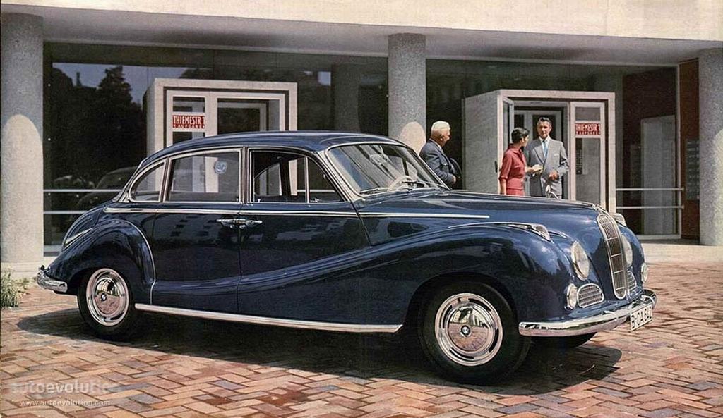 BMW 501 1952 - 1958 Sedan #5