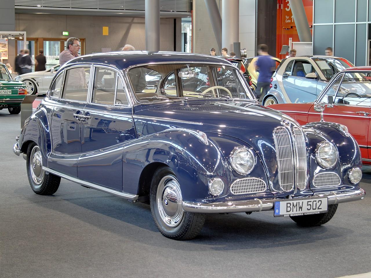 BMW 502 1954 - 1961 Sedan #3