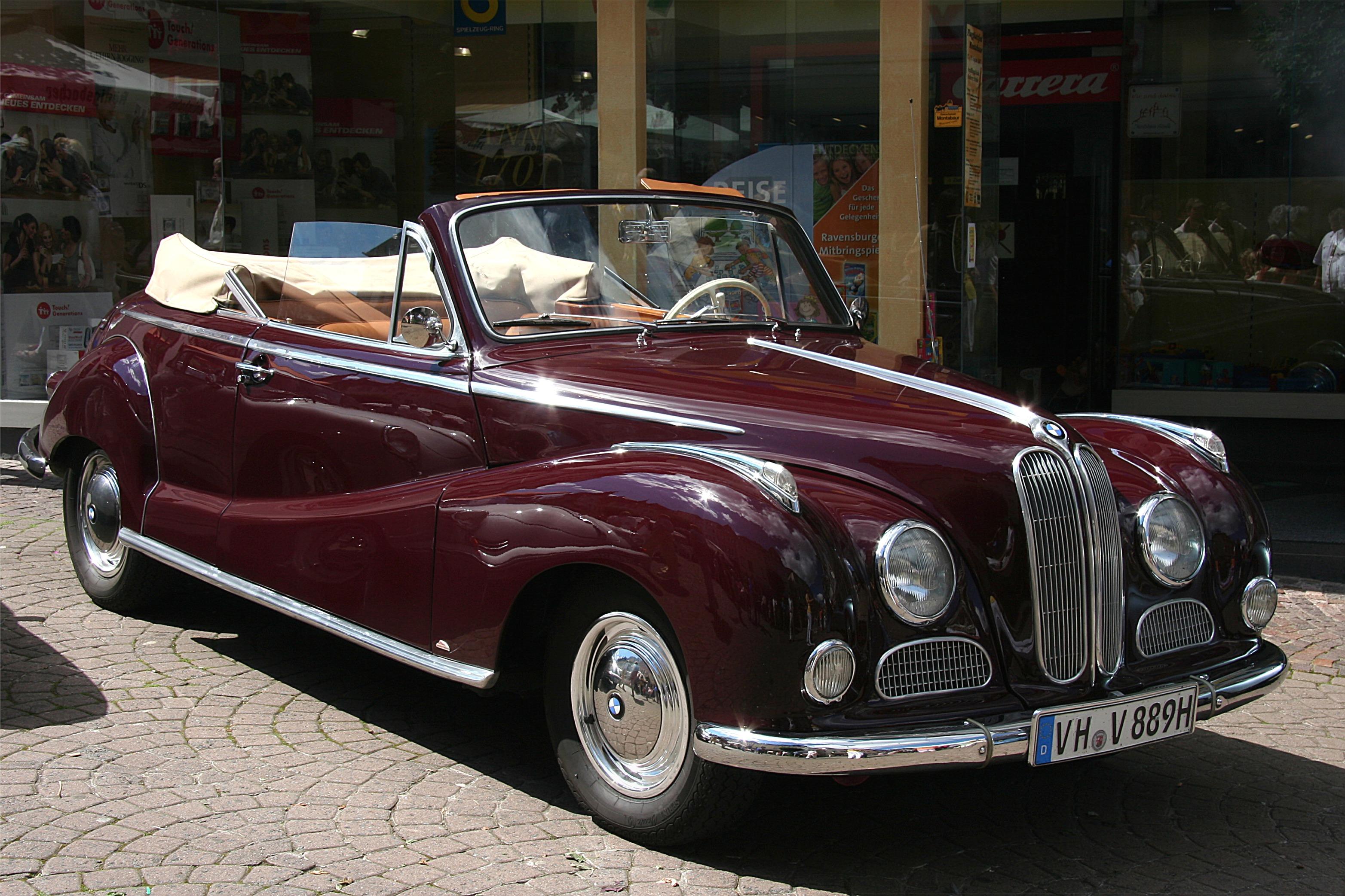 BMW 502 1954 - 1961 Sedan #4