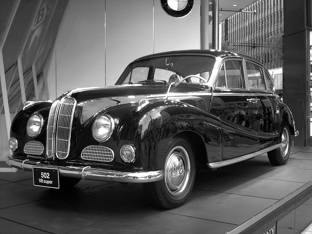 BMW 502 1954 - 1961 Sedan #1
