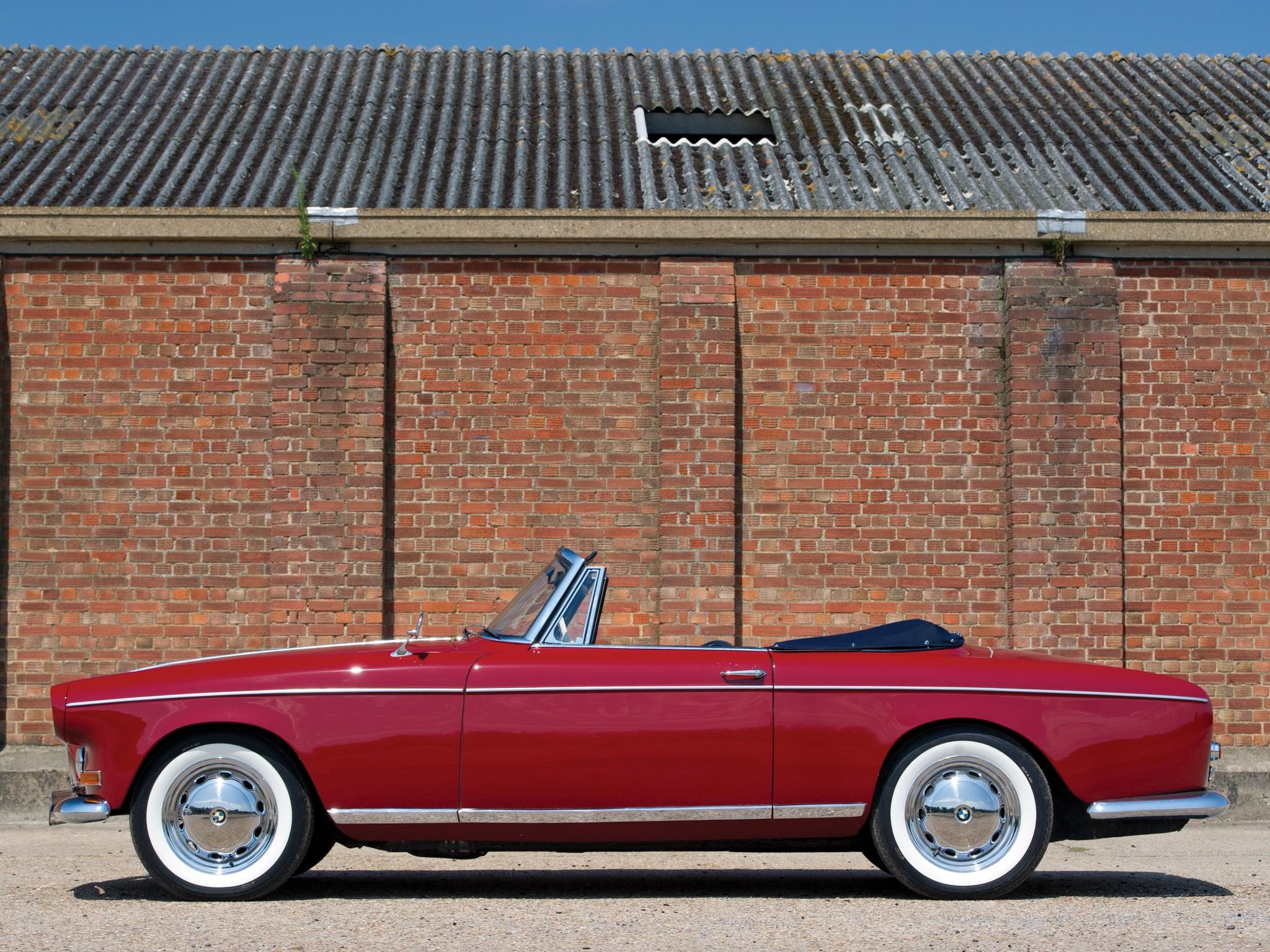 BMW 503 1956 - 1959 Cabriolet #4