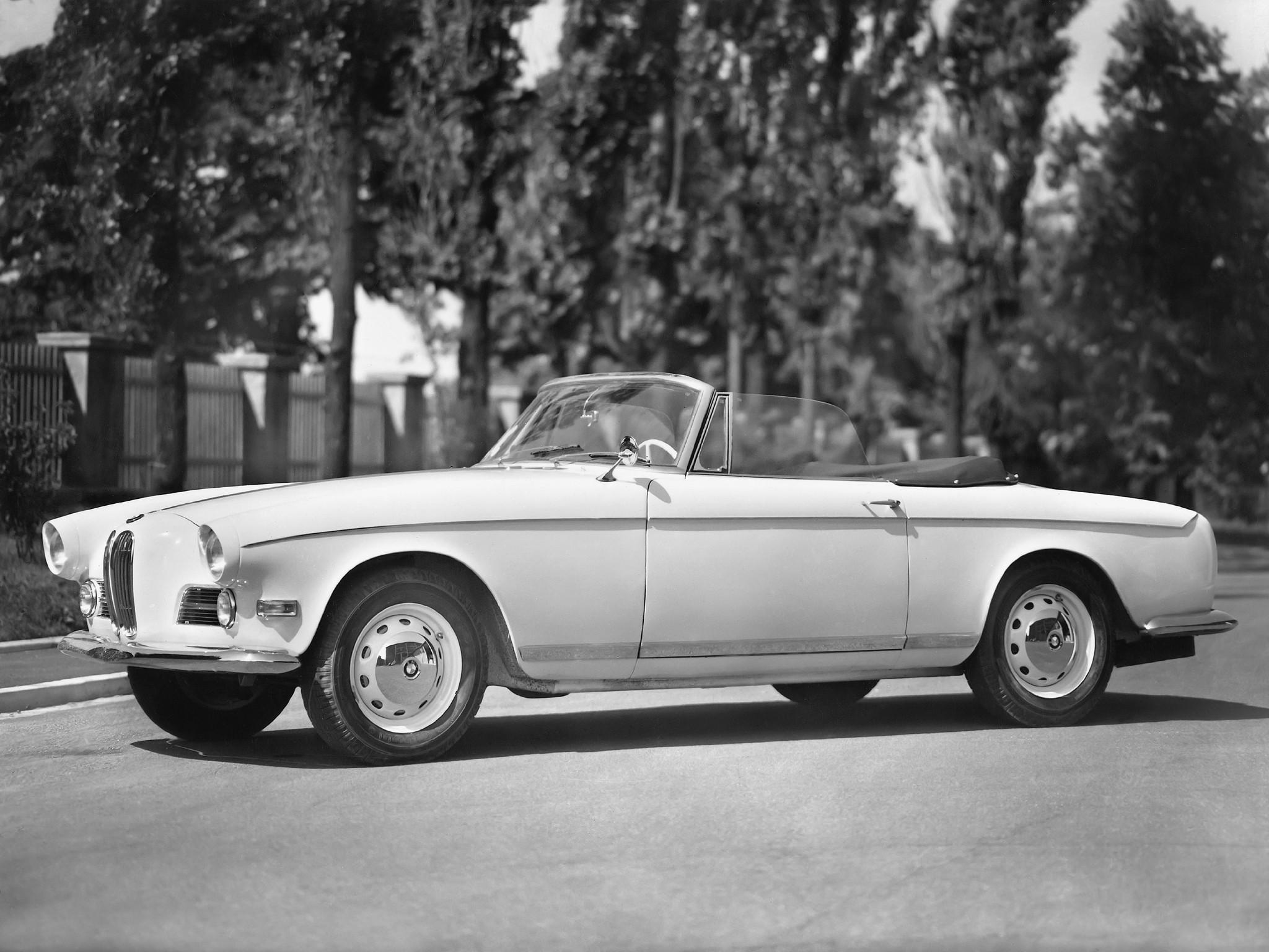 BMW 503 1956 - 1959 Cabriolet #2