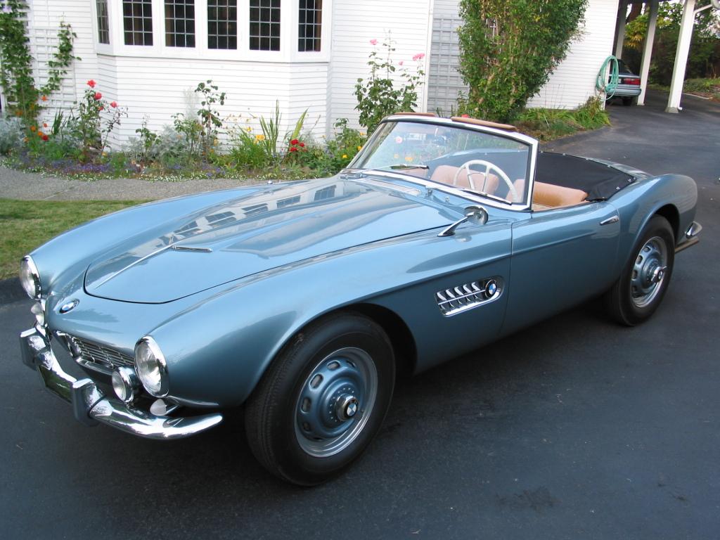 BMW 507 1956 - 1959 Cabriolet #7