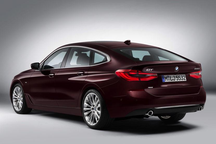 BMW 6 Series G32 2017 - now Liftback #8