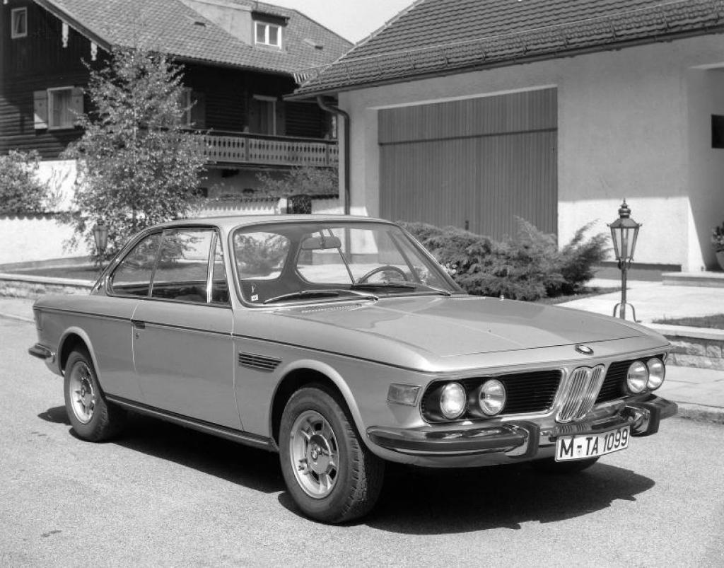 BMW E9 1968 - 1975 Coupe #4