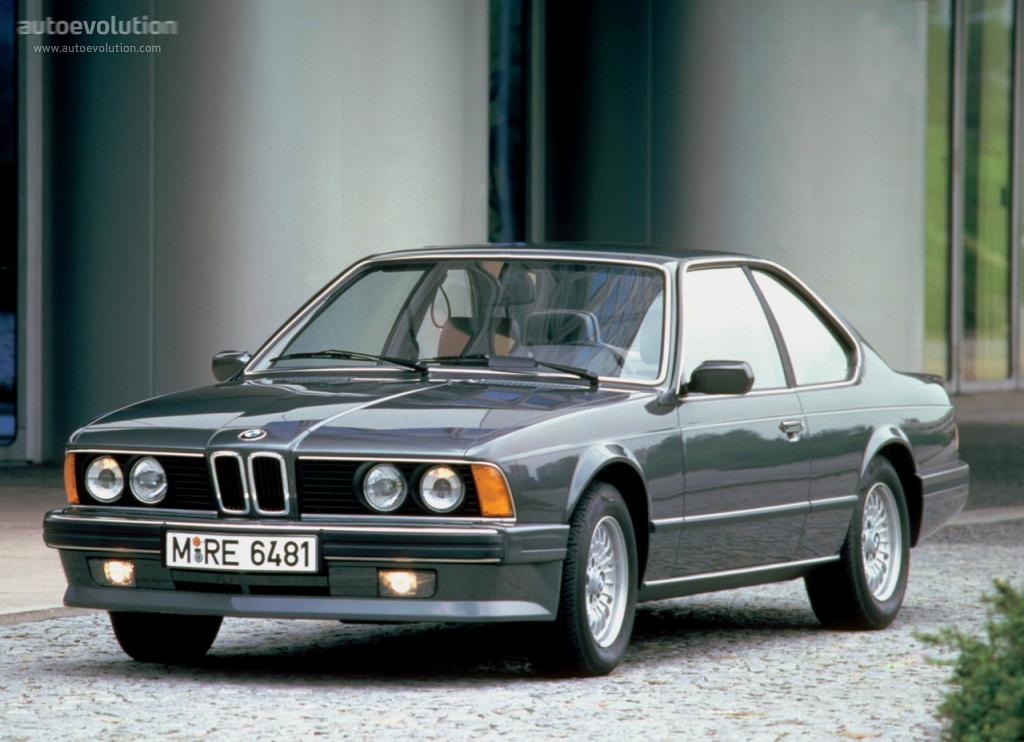 BMW M6 I (E24) 1983 - 1989 Coupe #1