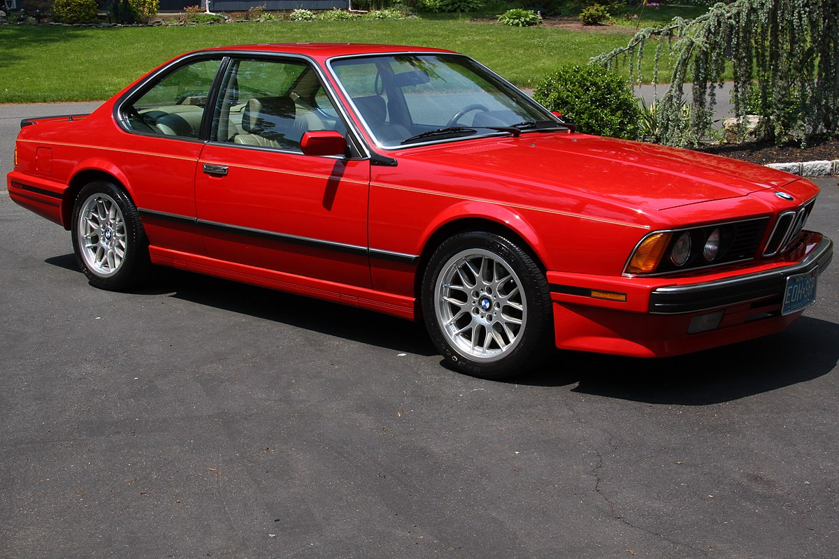Bmw M6 I E24 1983 1989 Coupe Outstanding Cars
