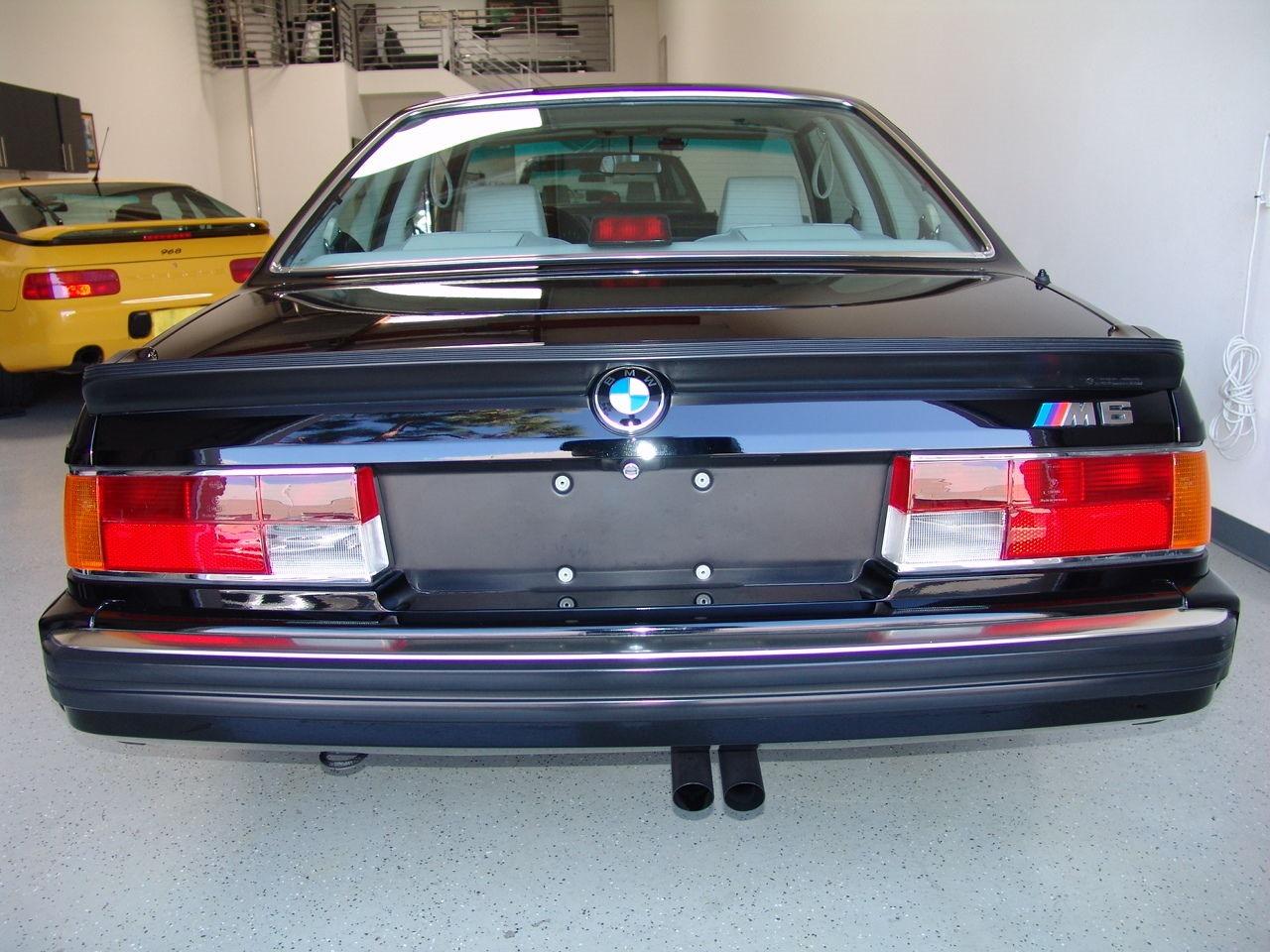 BMW M6 I (E24) 1983 - 1989 Coupe #4
