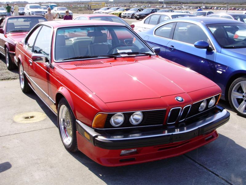 BMW M6 I (E24) 1983 - 1989 Coupe #6