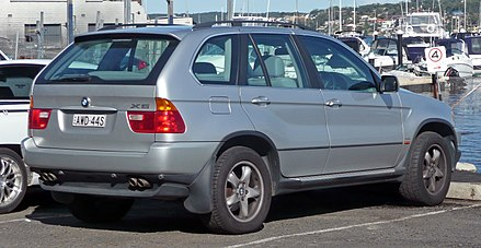 BMW X5 I (E53) 1999 - 2003 SUV 5 door #7