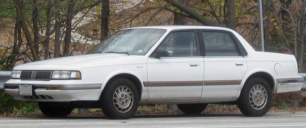 Oldsmobile Cutlass Ciera 1981 - 1996 Coupe #8