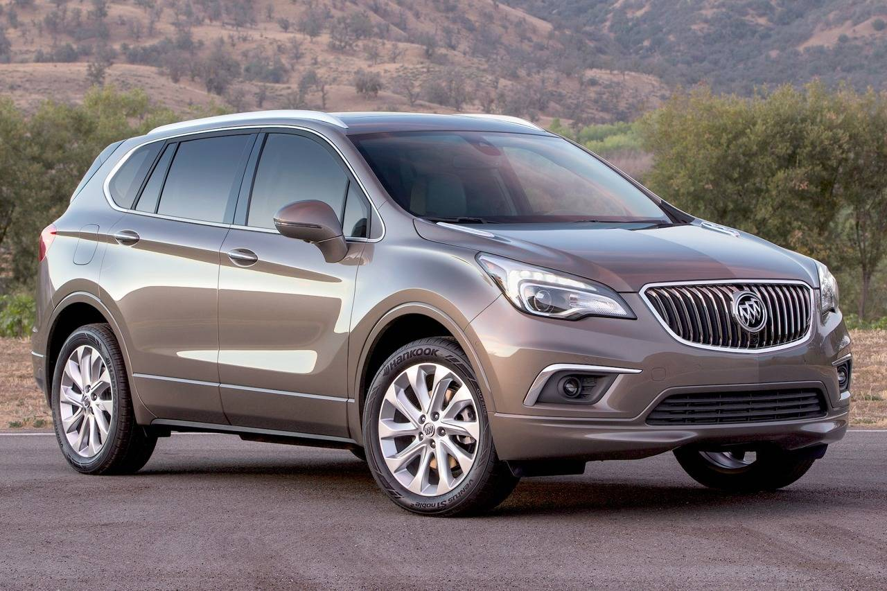 Buick Envision 2016 - now SUV 5 door :: OUTSTANDING CARS