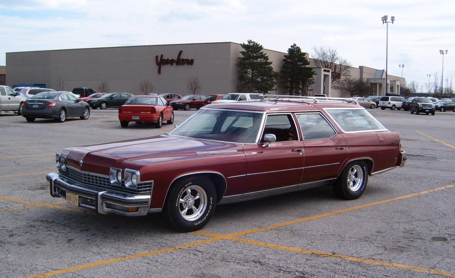 Buick Estate Wagon 1977 - 1990 Station wagon 5 door #5