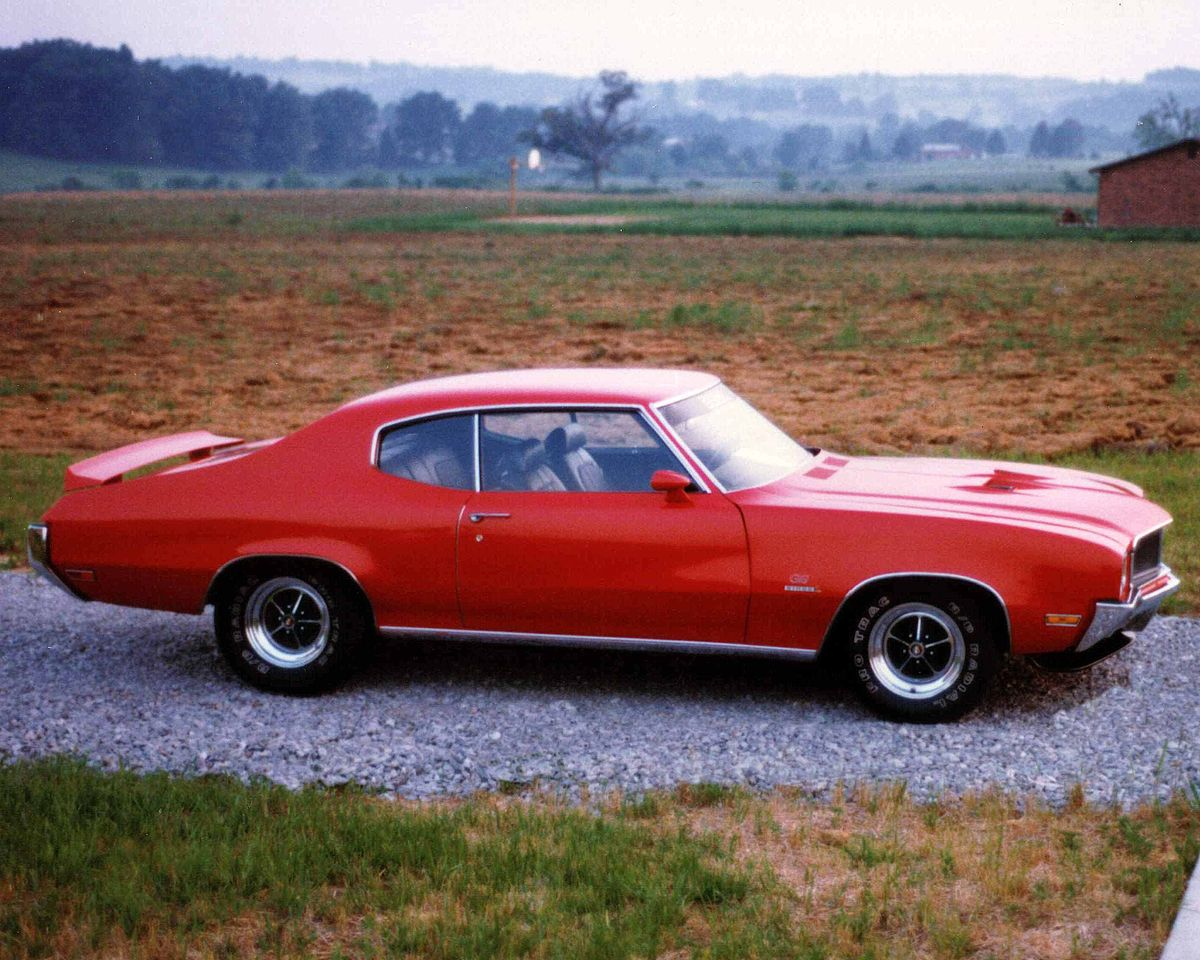 Buick GS I 1970 - 1972 Coupe #8