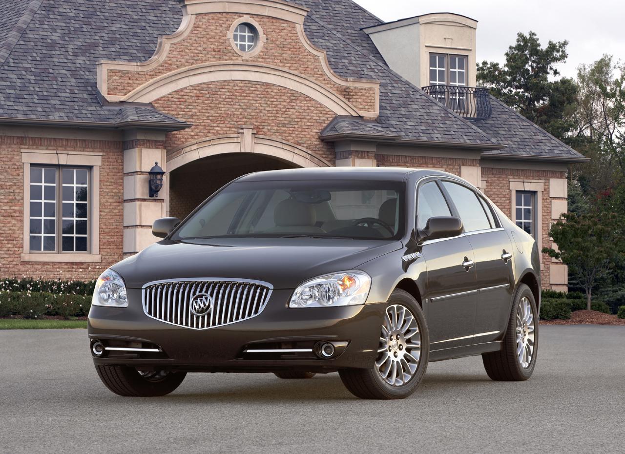 Buick Lucerne I Restyling 2008 - 2011 Sedan #5