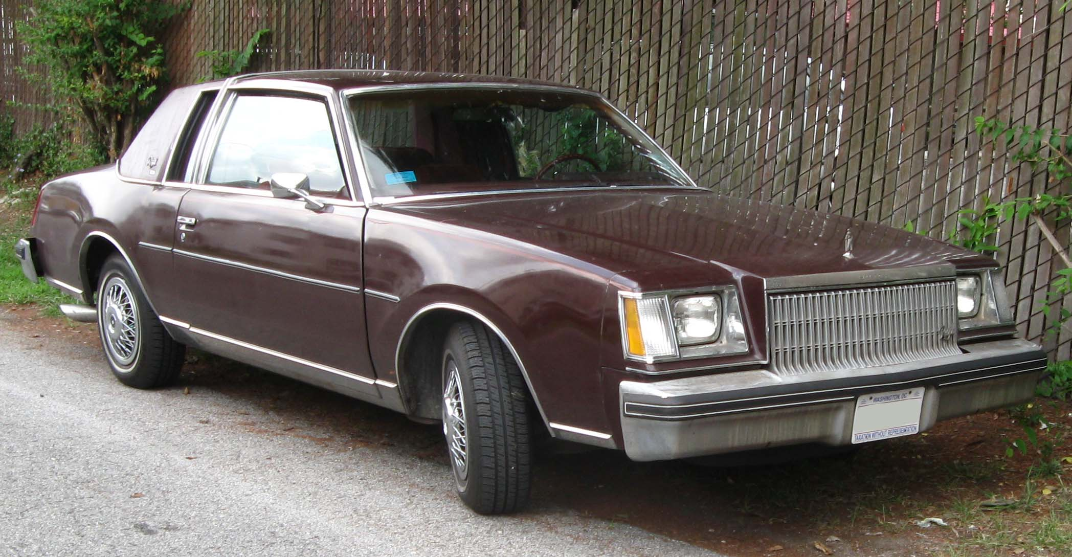 Buick Regal II 1978 - 1987 Coupe #6