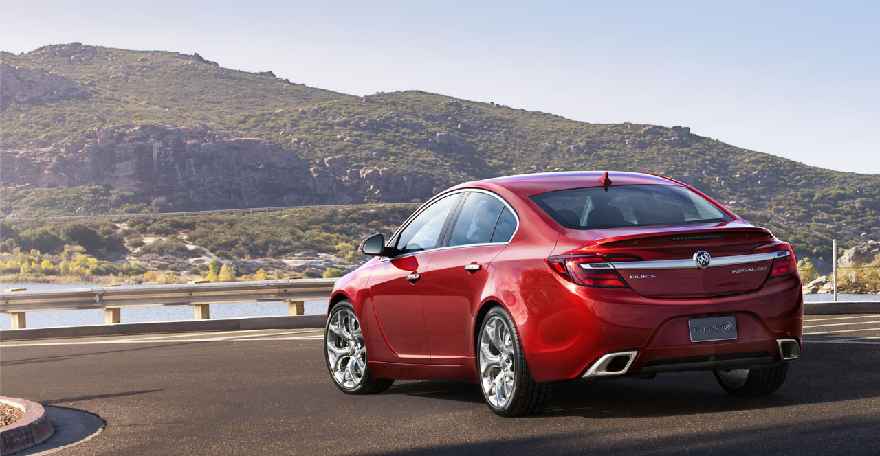 Buick Regal V Restyling 2013 - now Sedan #7