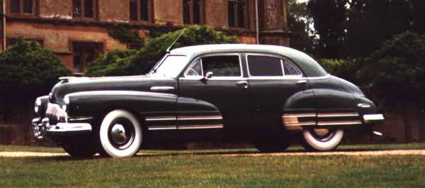 Buick Super 1942 - 1953 Sedan #6