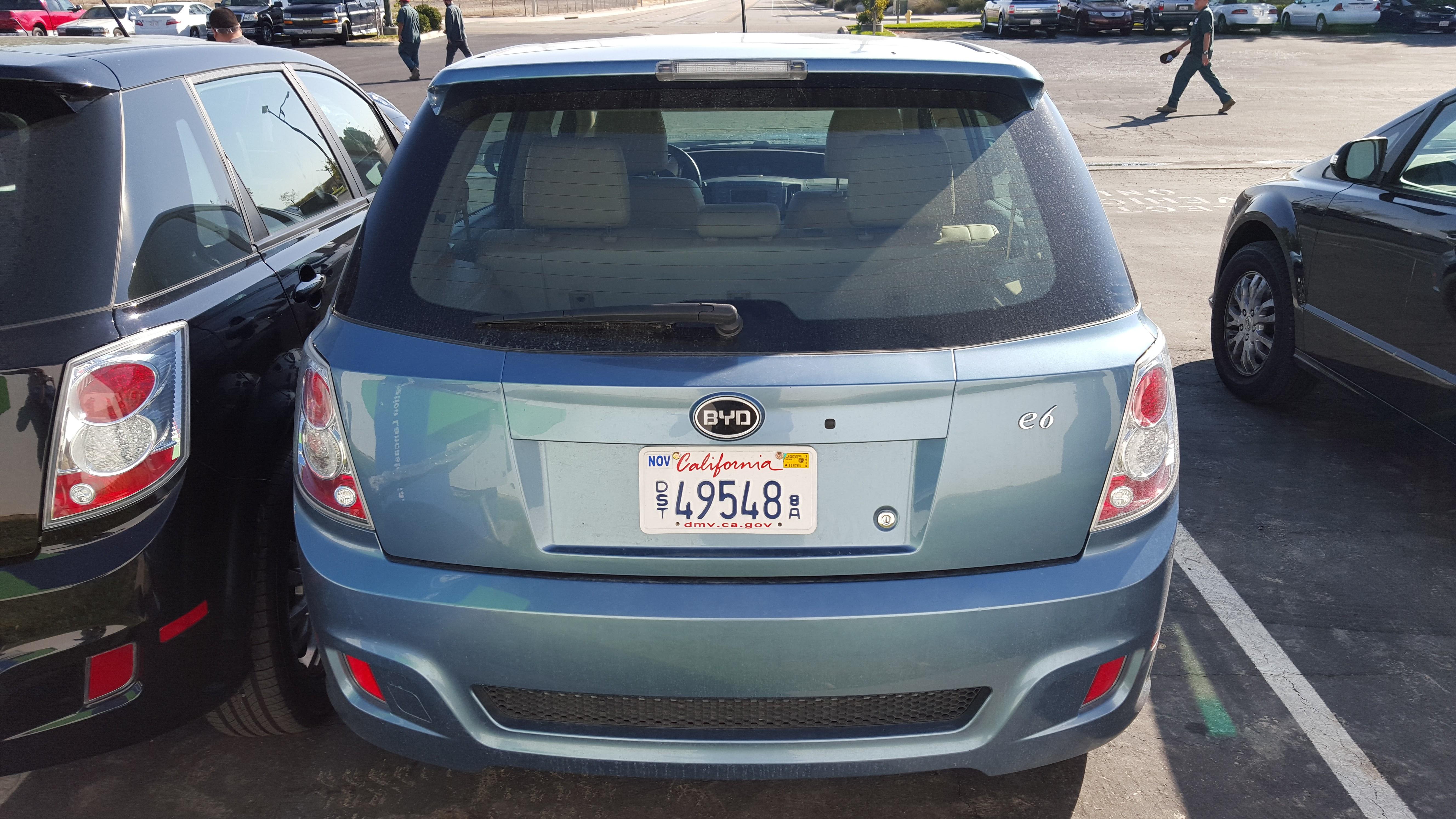 BYD E6 2011 - now Hatchback 5 door #4