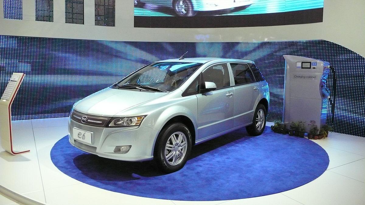 BYD E6 2011 - now Hatchback 5 door #8