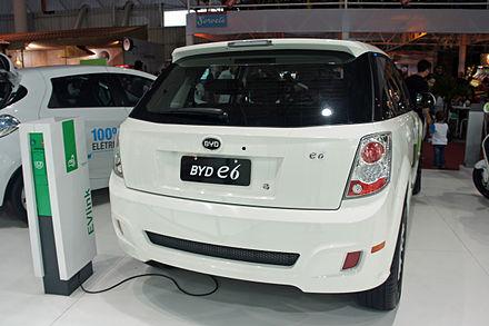 BYD E6 2011 - now Hatchback 5 door #3