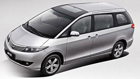 BYD M6 2010 - now Minivan #3