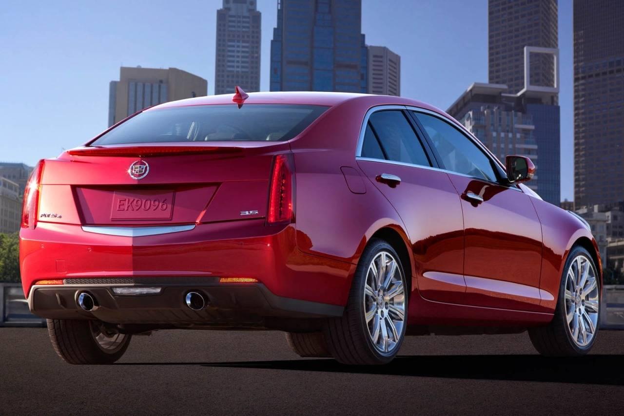 Cadillac ATS I 2012 - 2014 Sedan #5