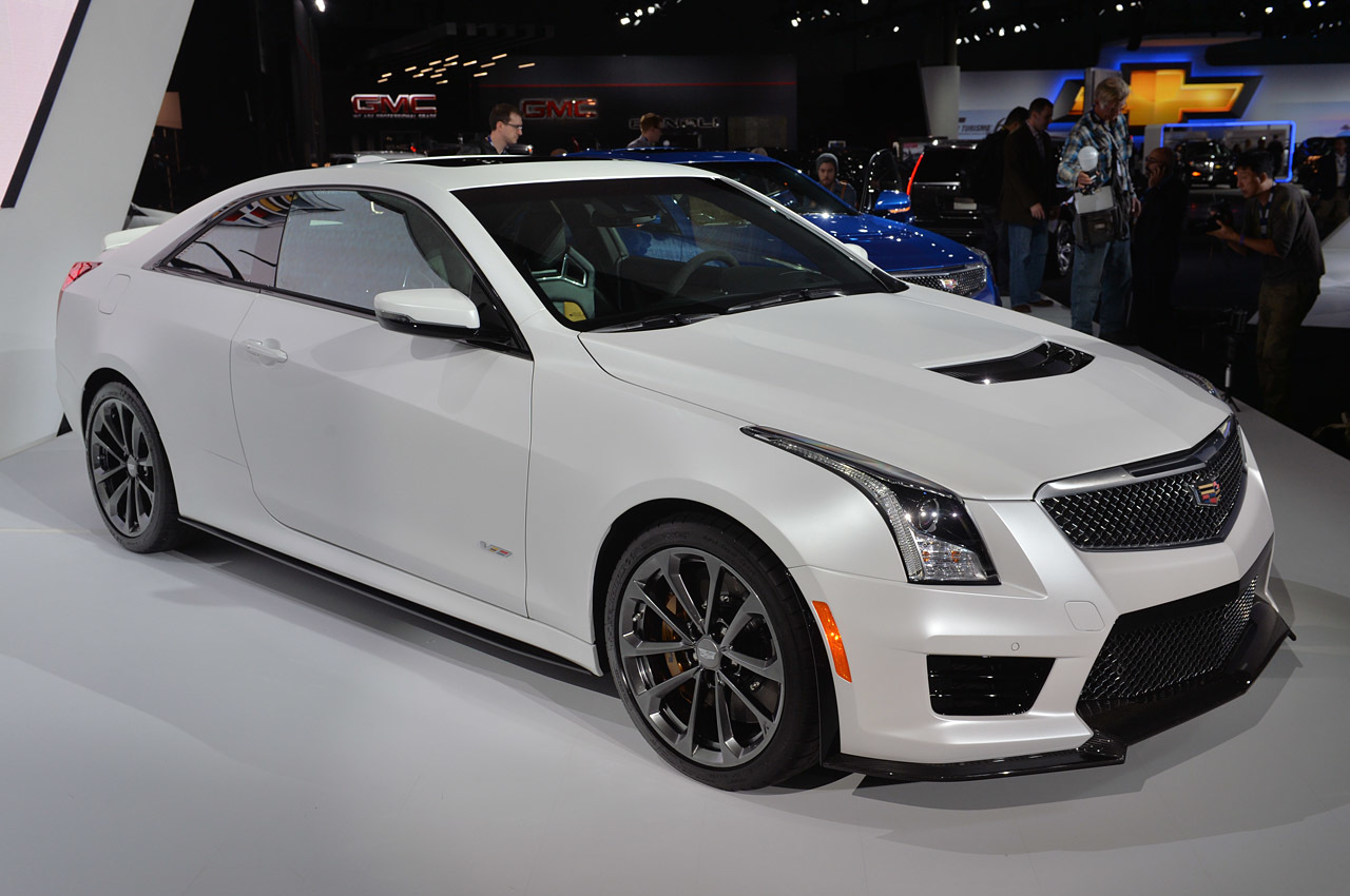 Cadillac ATS I Restyling 2014 - now Coupe #2