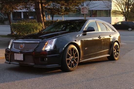 Cadillac CTS-V II 2008 - 2014 Station wagon 5 door #4
