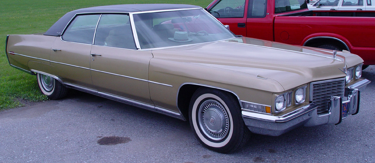 Cadillac DeVille IV 1971 - 1976 Coupe #2