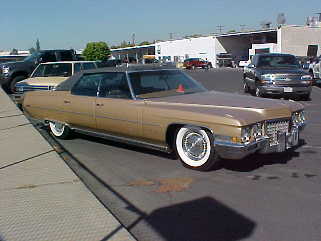 Cadillac DeVille IV 1971 - 1976 Coupe #1