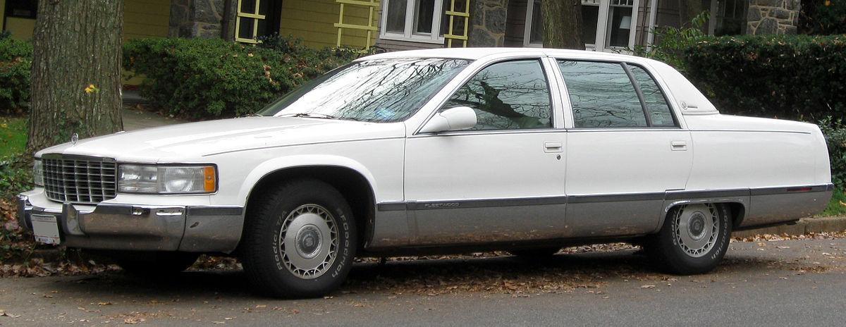 Cadillac Fleetwood II 1993 - 1996 Sedan #8