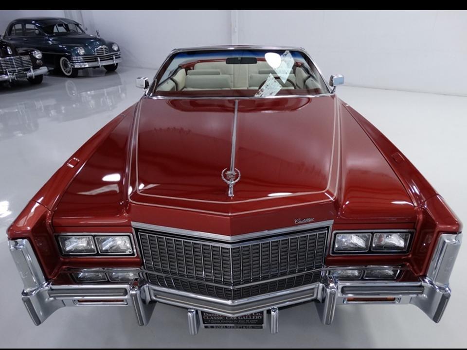 Cadillac Eldorado VII 1971 - 1978 Cabriolet #6