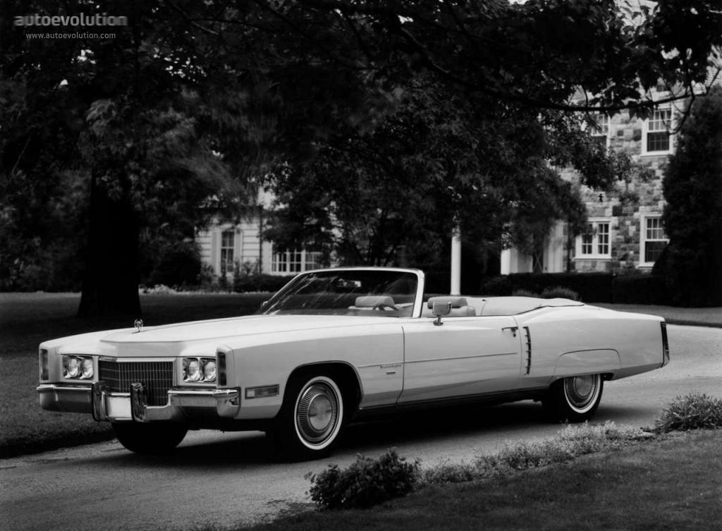 Cadillac Eldorado VII 1971 - 1978 Cabriolet #2