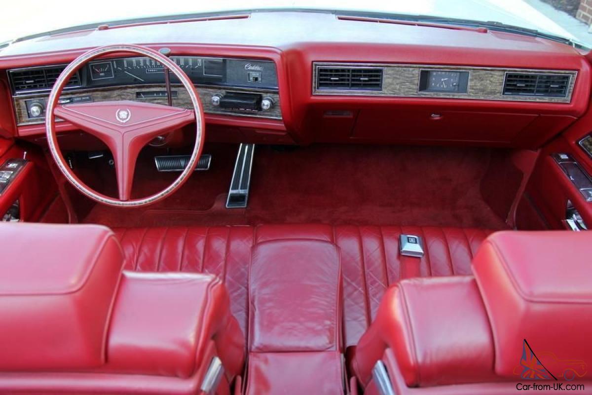 Cadillac Eldorado VII 1971 - 1978 Cabriolet #5