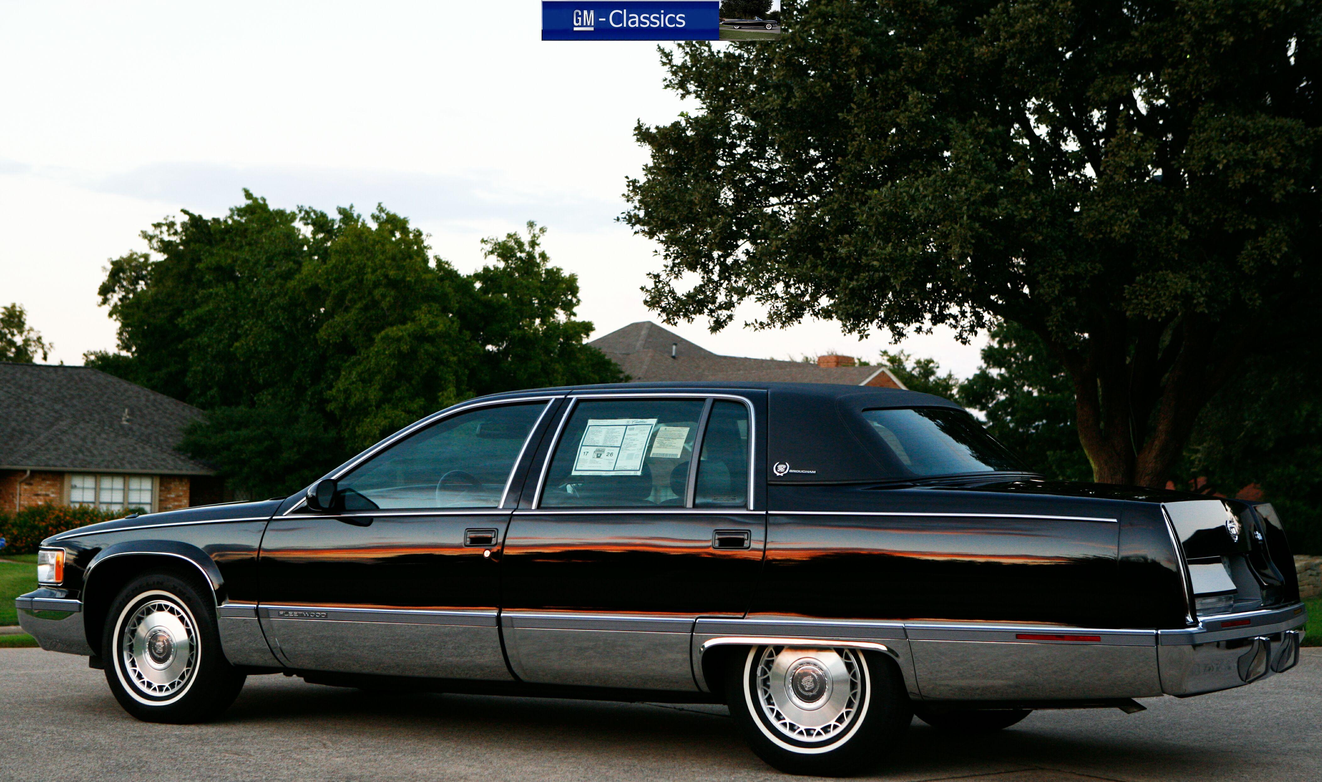 Cadillac Fleetwood II 1993 - 1996 Sedan #5