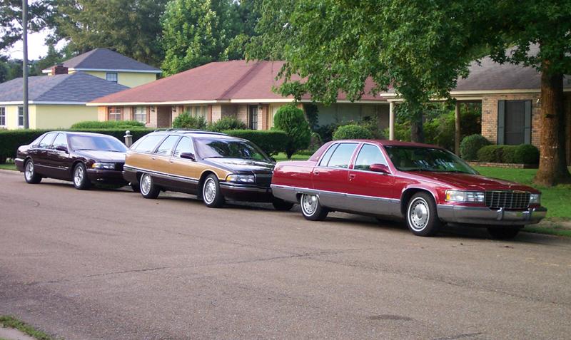 Cadillac Fleetwood II 1993 - 1996 Sedan #3