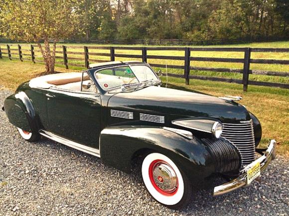Cadillac Series 62 I 1940 - 1941 Cabriolet #4