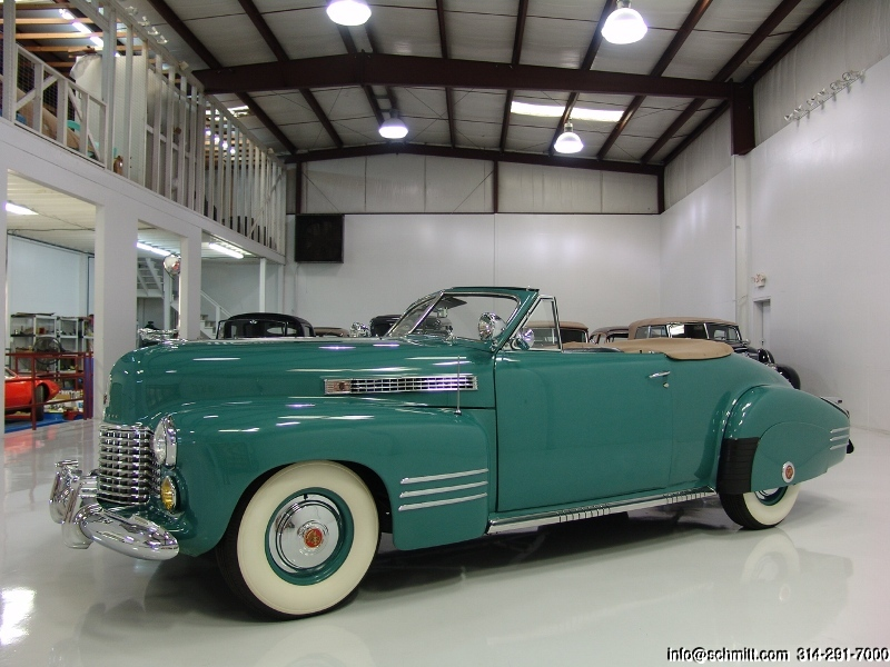 Cadillac Series 62 I 1940 - 1941 Cabriolet #6