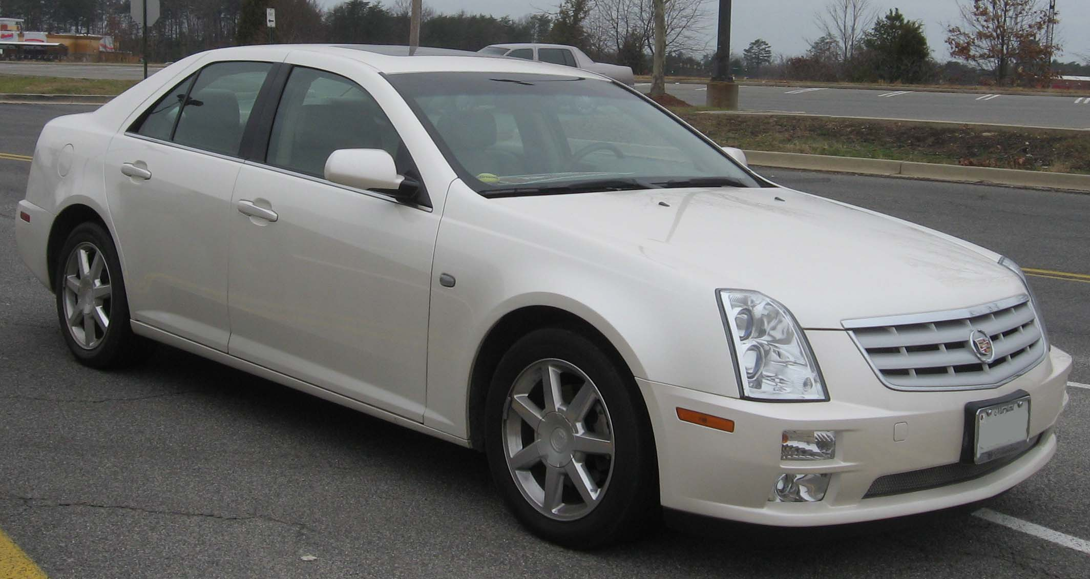 Cadillac STS I 2005 - 2007 Sedan #4