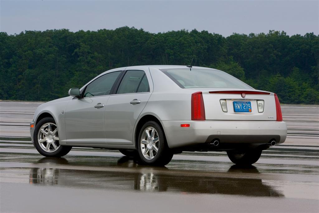 Cadillac STS I Restyling 2007 - 2011 Sedan #4