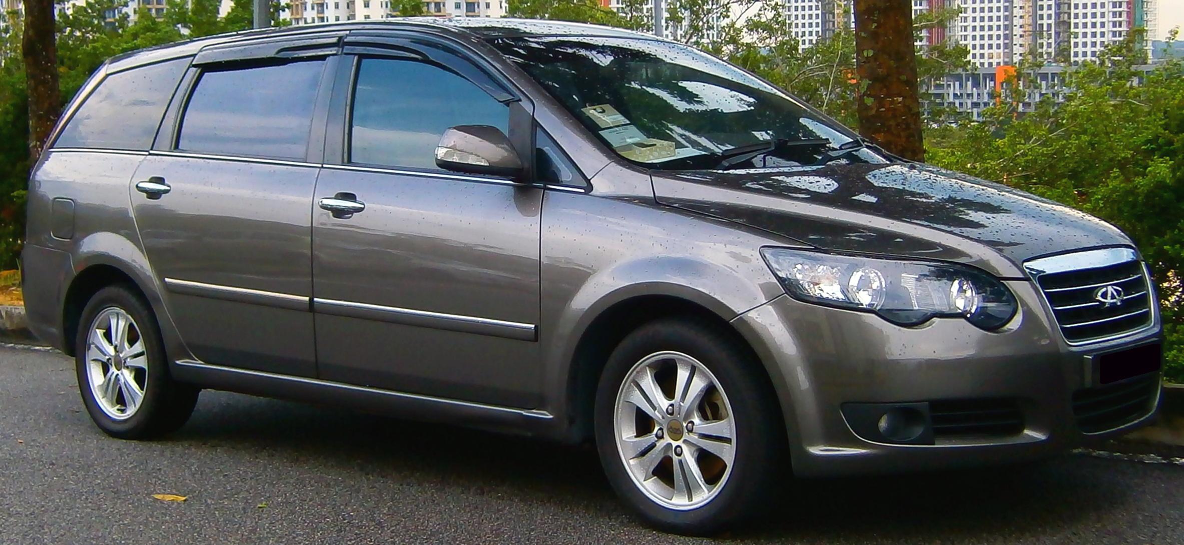 Chery B13 I 2006 - 2008 Minivan #5