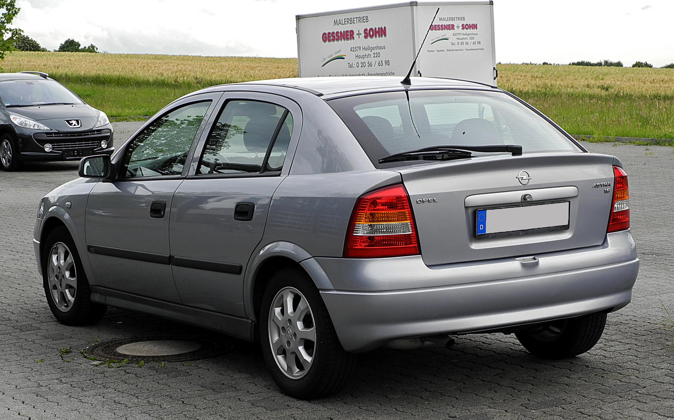 Chevrolet Astra 1998 - 2011 Sedan #1