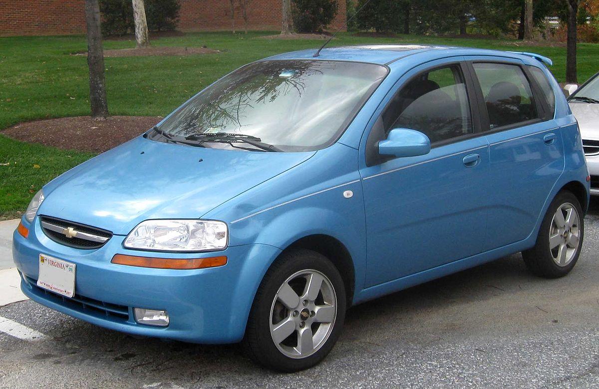 Chevrolet Kalos 2003 - 2008 Hatchback 3 door #8