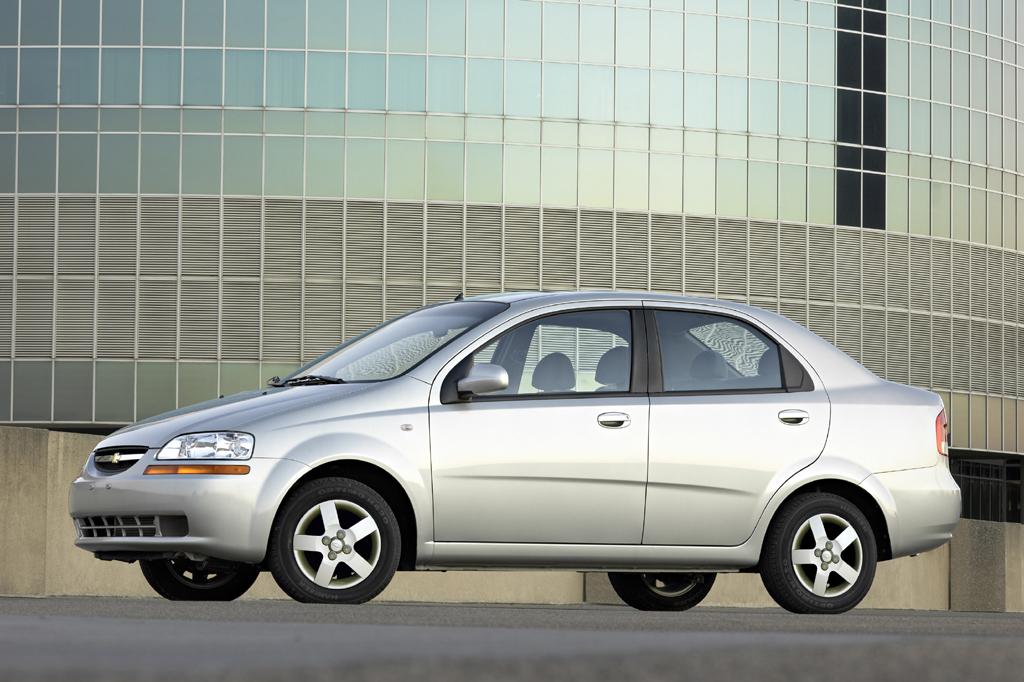 Chevrolet Aveo I Restyling 2006 - 2011 Sedan #5