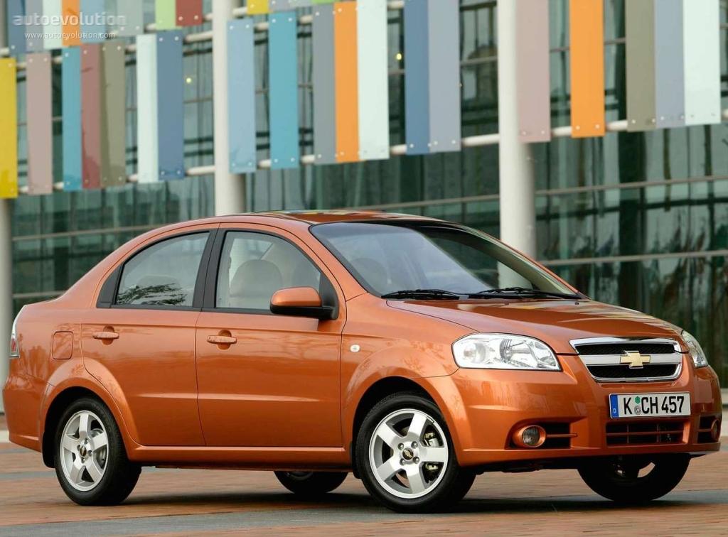 Chevrolet Aveo I Restyling 2006 - 2011 Sedan #3